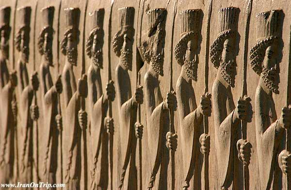 Persepolise Royal Soldiers