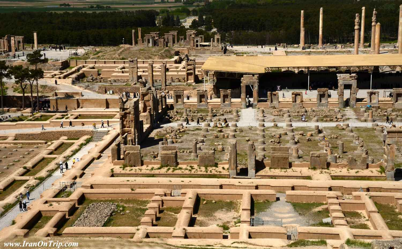 All about Persepolis in Shiraz Iran