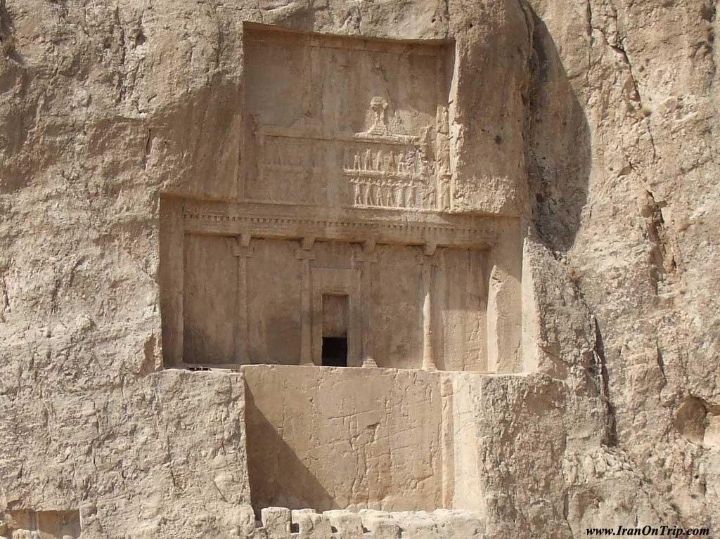 The tomb of Darius Shiraz Iran