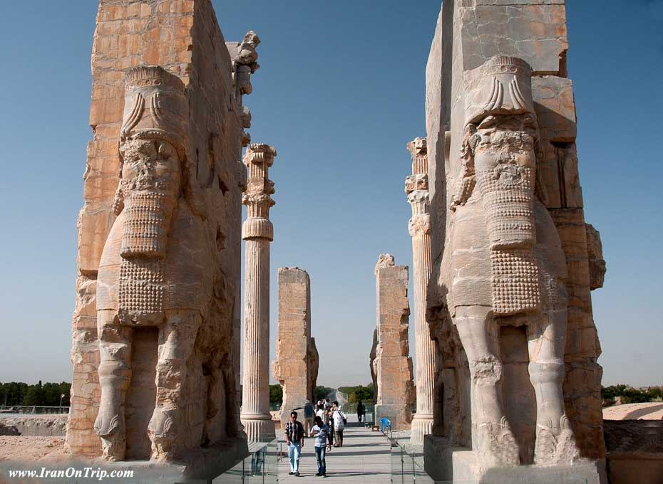 The Gate of all Nations Persia Iran