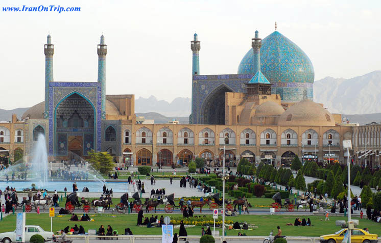Imam Mosque (Masjid-e Jam 'e Abbasi) or (Shah Mosque)