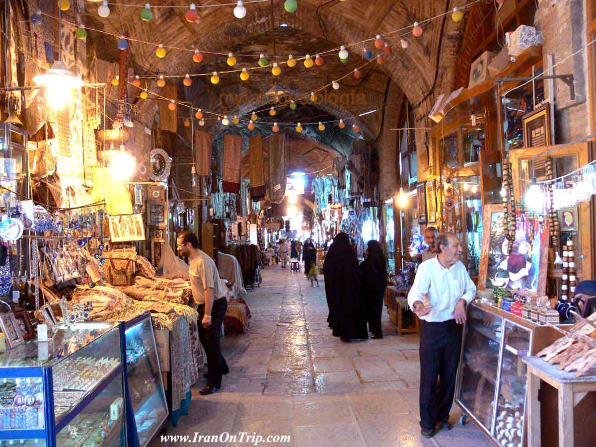 The Bazaar of Isfahan ( Qeysarieh bazaar)