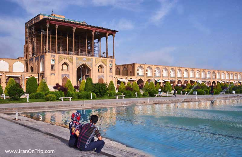 Ali Qapoo Edifice, Esfahan-Iran