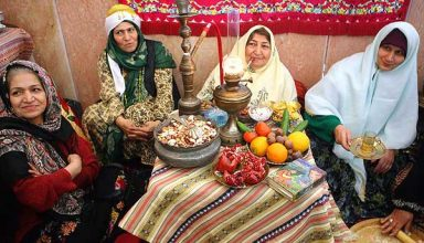 Celebrating Yalda Night in Iran