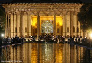 Chehel Sotune Palace, Esfahan-Iran
