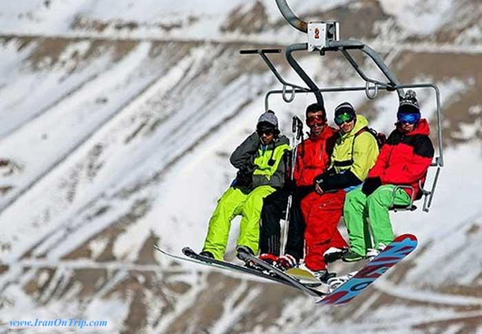 Darbandsar Ski piste Tehran Iran