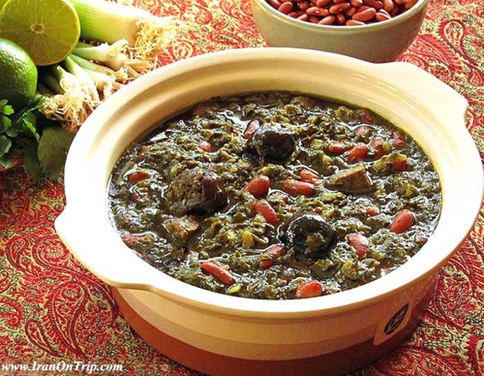 Ghormeh Sabzi - Persian foods
