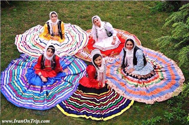 Guilaks / Talyshi / Taleshi dresse