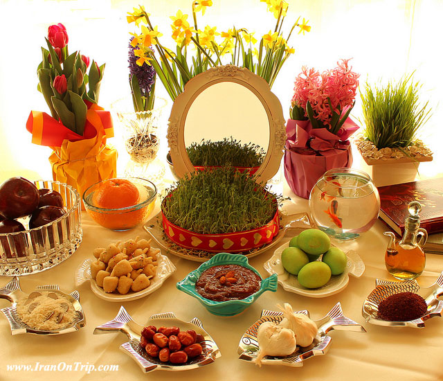 Haft-Seen - All about Nowruz in Iran and ceremony - Ceremonies of Iran