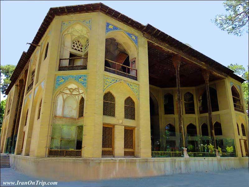 Hasht Behesht Palace, Esfahan-Iran