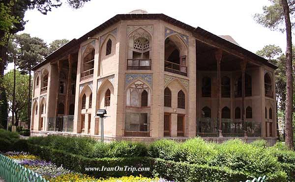 Hasht Behesht Palace Esfahan-Iran