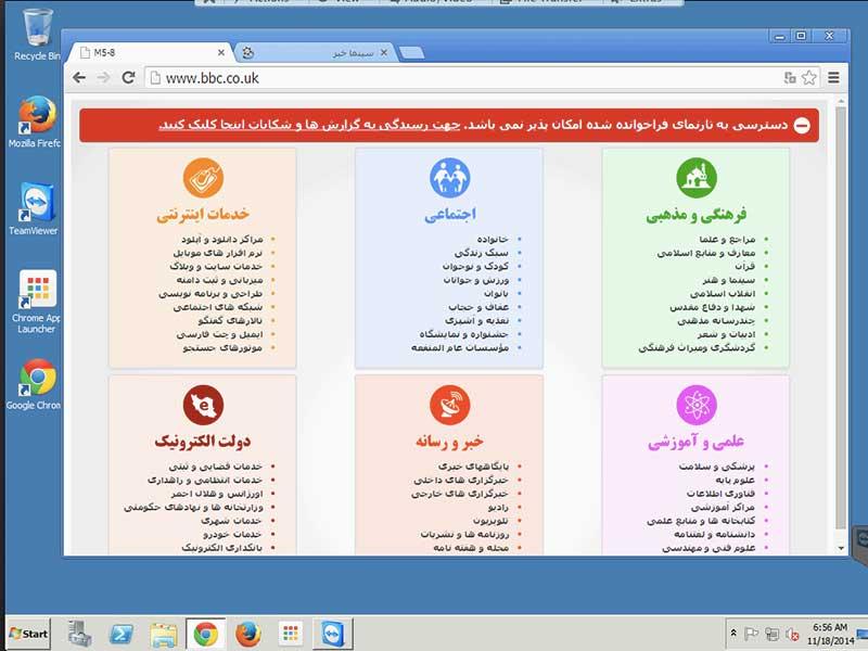 Internet Filtering inIran