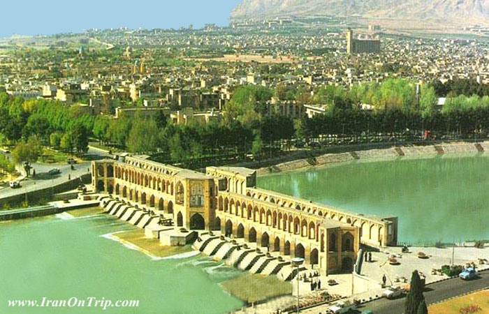 Khaju Bridge - Historical Bridges of Isfahan Iran - Hisorical Bridges of Iran
