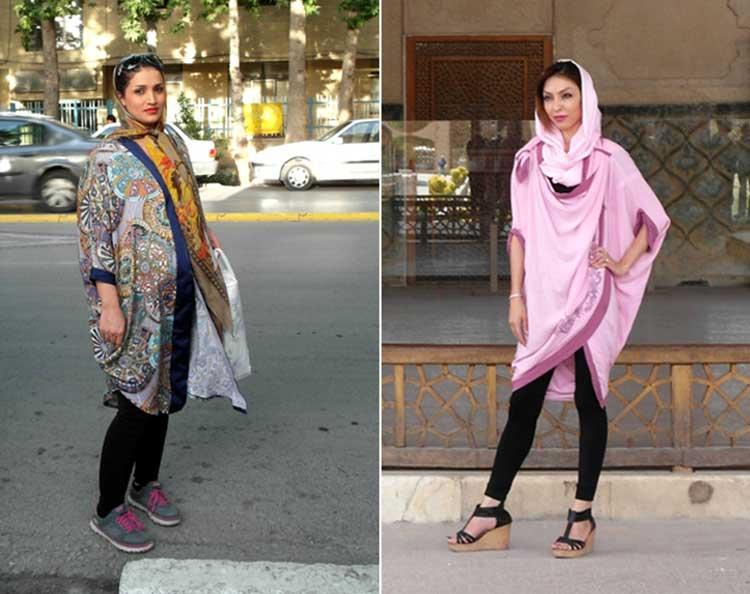 Manteau in Iran