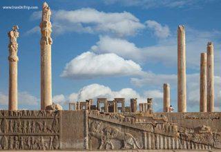 Persepolis of Shiraz Iran