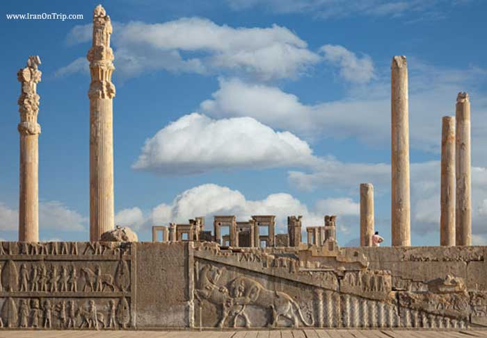 Persepolis of Shiraz Iran