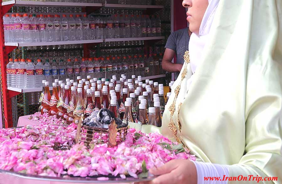 Rose water Festival in Kashan Iran