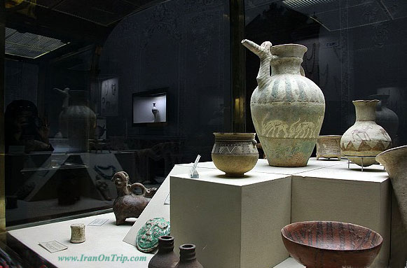 Tehran Glassware & Ceramic Museum, Abgineh Museum