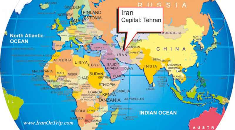 Where is Iran? - Georgraphical Location of Iran