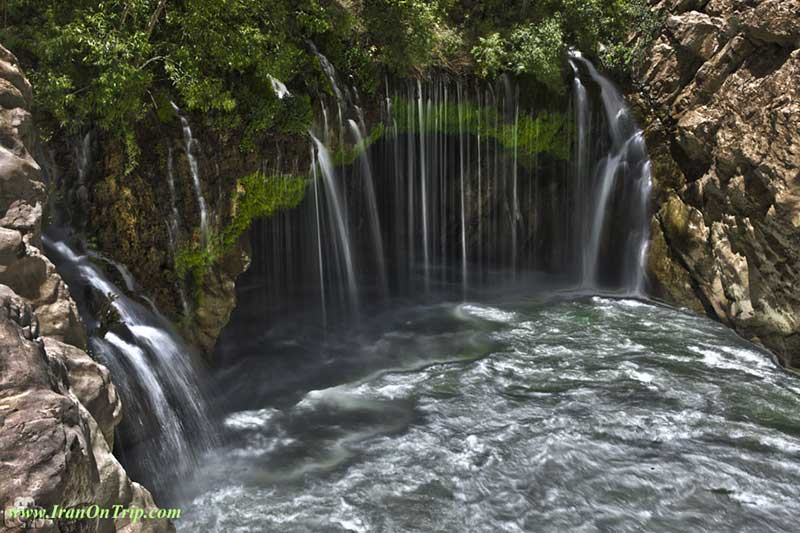 Ab Malakh - Shalura Waterfall Semerom Iran - Waterfalls of Iran