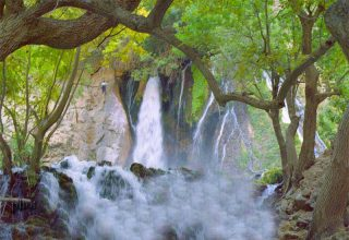 Atashgah Waterfall - Waterfalls of Iran