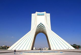 Azadi Tower of Tehran Iran