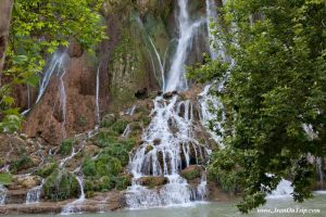 Bisheh Waterfall Dorood in Lorestan Province - Waterfalls of Iran