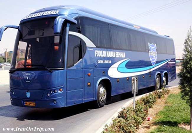 Bus in Tehran Iran