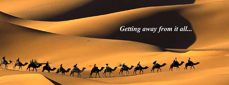 Camel Riding in Deserts of Iran