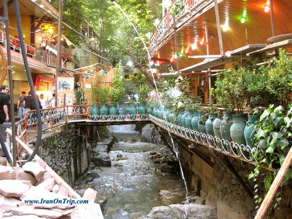 Darband area Tehran Iran