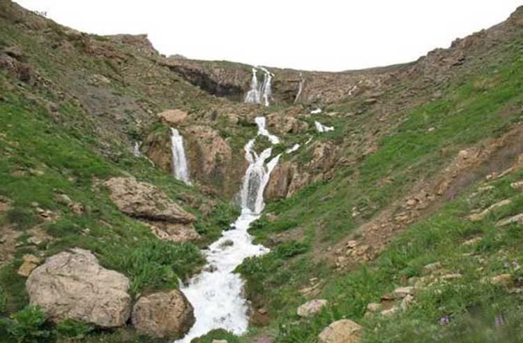 Lar Waterfall Iran - Waterfalls of Iran