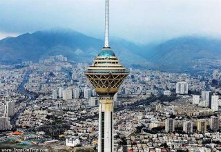 Milad Tower Tehran Iran