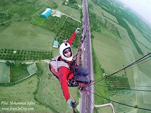 Mohammad-Jafari-Paragliding-From-Isfahan-Iran