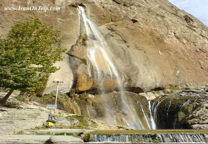 Semirom Waterfall Iran - Waterfalls of Iran