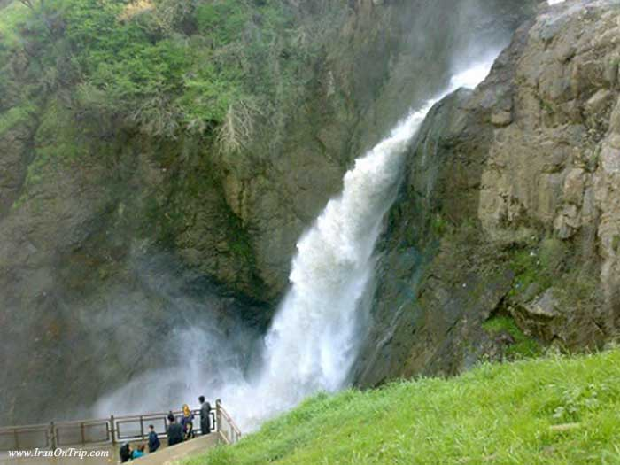 Shalmash waterfall - Waterfalls of Iran