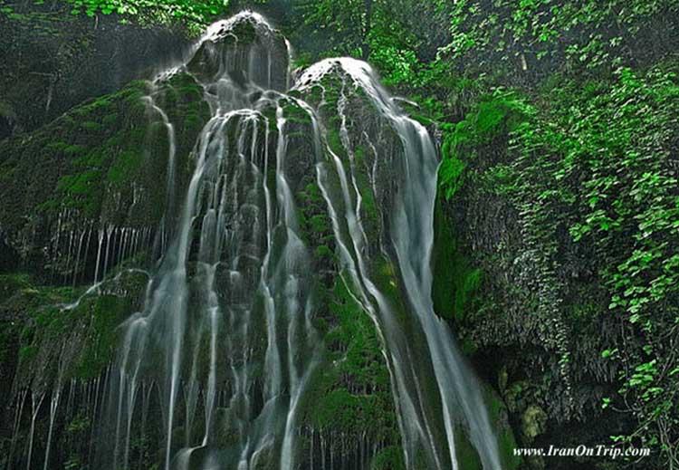 Shir Abad Waterfall - Kabudwal Falls - Waterfalls of Iran