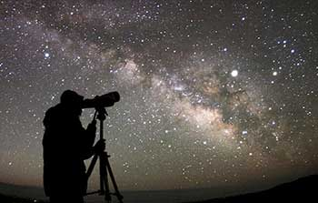 Stellar observation at Deserts of Iran