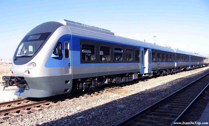 Train in  Tehran Iran