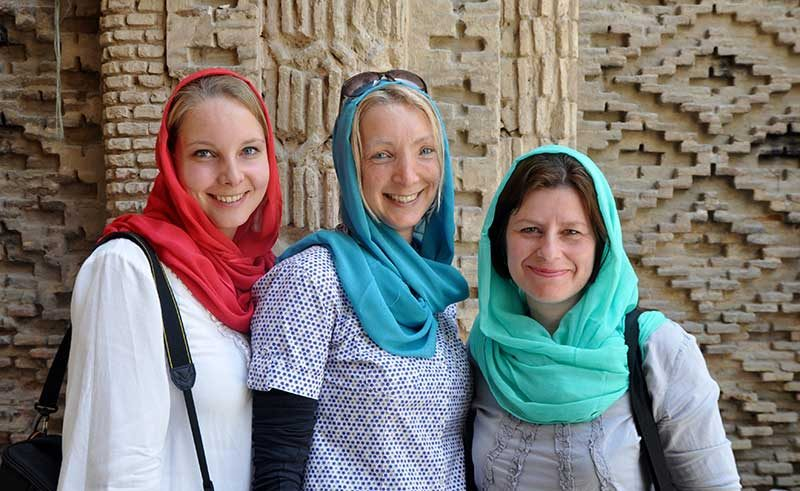 Women Travelers in Iran