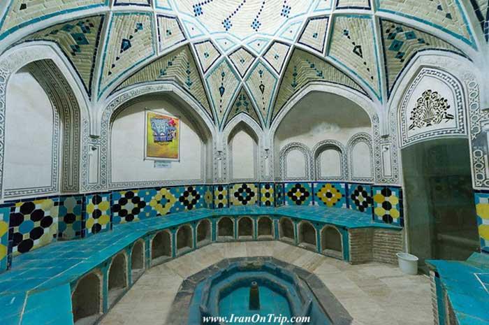 Sultan Amir Ahmad Bathhouse Kashan  Isfahan Iran