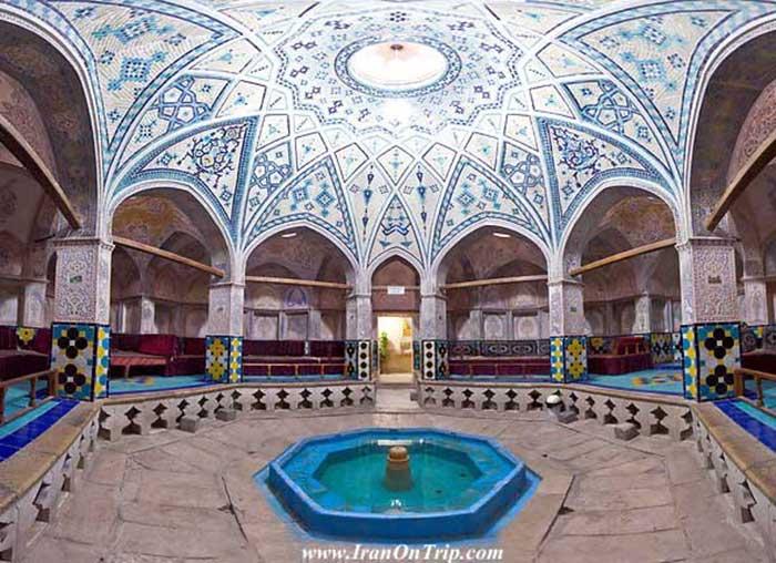 Sultan Amir Ahmad Bathhouse Kashan -Isfahan Iran