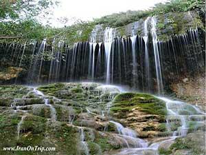Asiab kharabeh Waterfall - Ruined water mill
