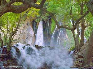 Atashgah Waterfall Iran - Waterfalls of Iran