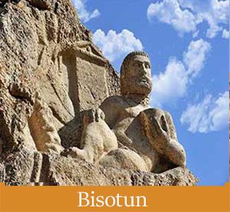 Bisotun in Kermanshah - Iran's Historical Sites in The UNESCO List