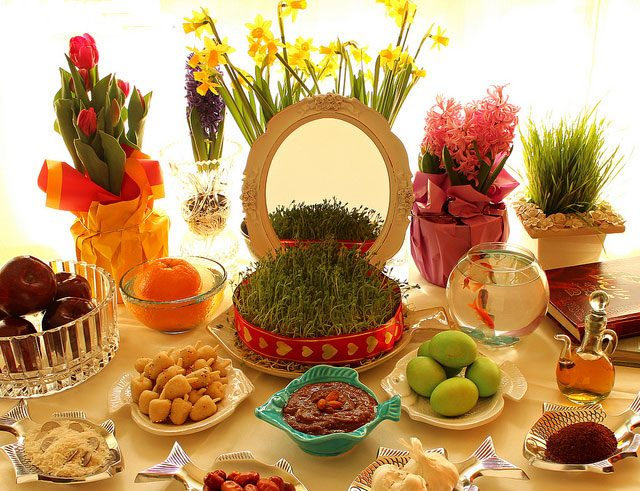 Haft Seen - All about Nowruz in Iran and ceremony - Ceremonies of Iran - Nowruz ceremony