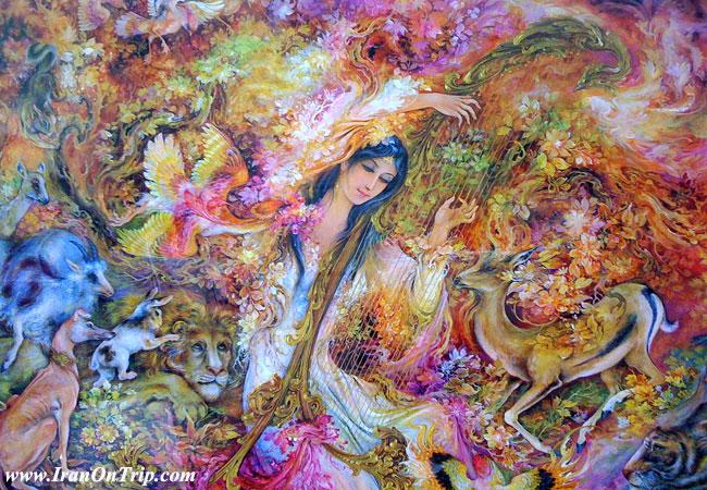 Isfahan Miniature - Iranian Art - Persian Art