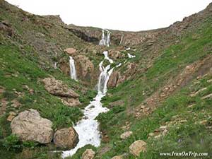 Lar Waterfall in Iran