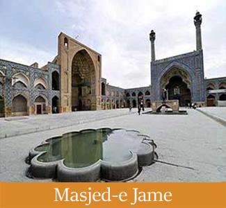 Masjed-e Jame of Isfahan - Iran's Historical Sites in The UNESCO List