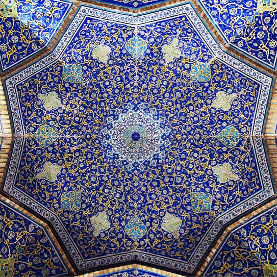 Tile Work of Iran