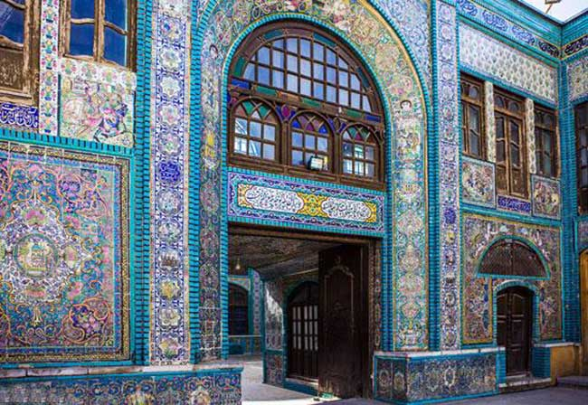 Tile-work-in-Iran